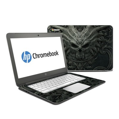 HP Chromebook 14 Skin - Black Book