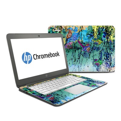 HP Chromebook 14 Skin - Blue Evening