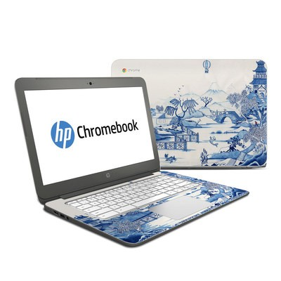 HP Chromebook 14 Skin - Blue Willow