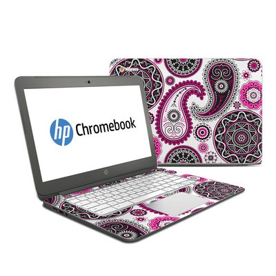 HP Chromebook 14 Skin - Boho Girl Paisley