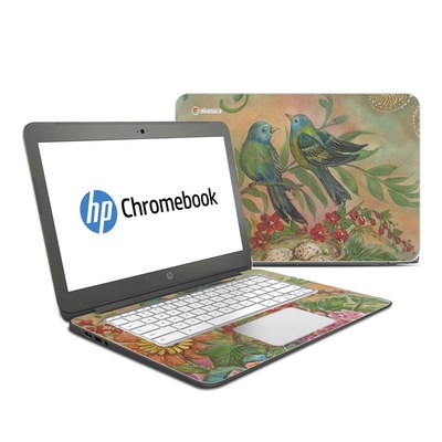 HP Chromebook 14 G4 Skin - Splendid Botanical