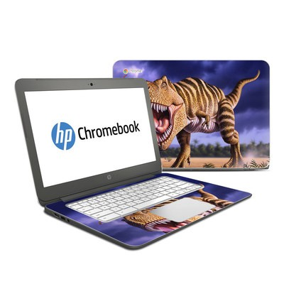 HP Chromebook 14 Skin - Brown Rex
