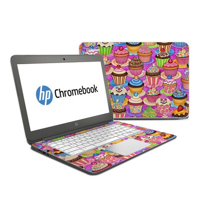 HP Chromebook 14 Skin - Cupcake