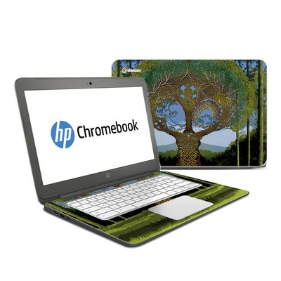 HP Chromebook 14 Skin - Celtic Tree