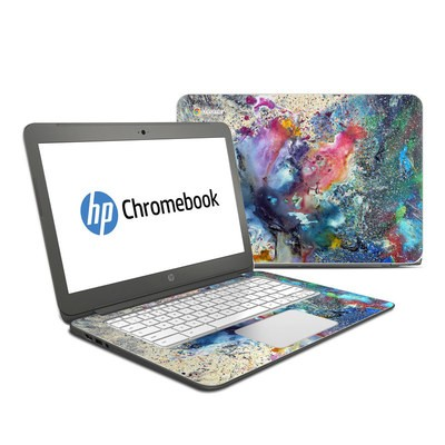 HP Chromebook 14 Skin - Cosmic Flower