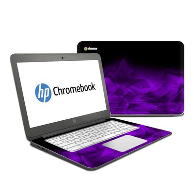 HP Chromebook 14 G4 Skin - Dark Amethyst Crystal