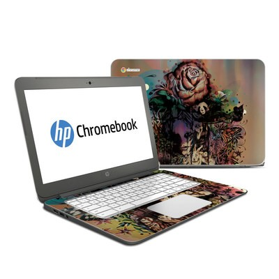 HP Chromebook 14 Skin - Doom and Bloom