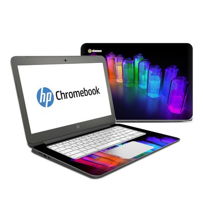HP Chromebook 14 Skin - Dispersion