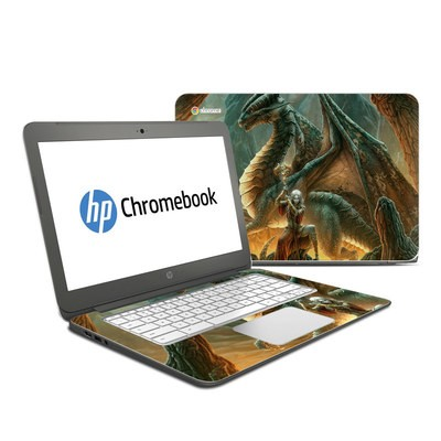 HP Chromebook 14 G4 Skin - Dragon Mage