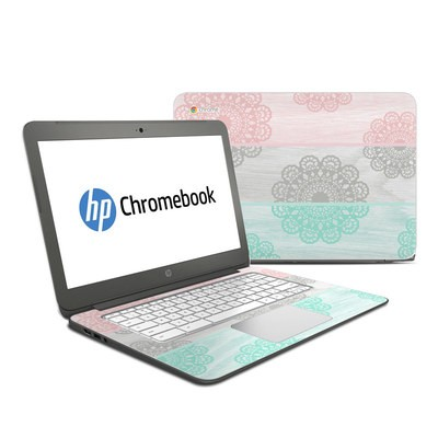 HP Chromebook 14 Skin - Doily