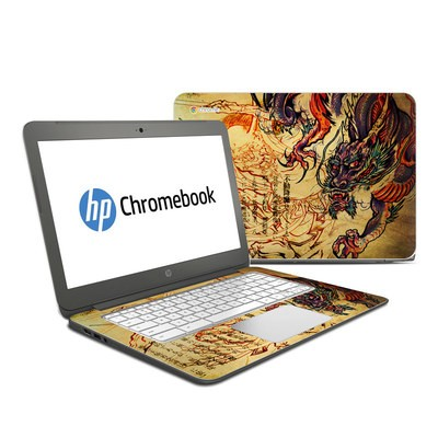HP Chromebook 14 Skin - Dragon Legend