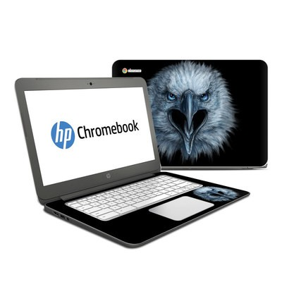HP Chromebook 14 Skin - Eagle Face
