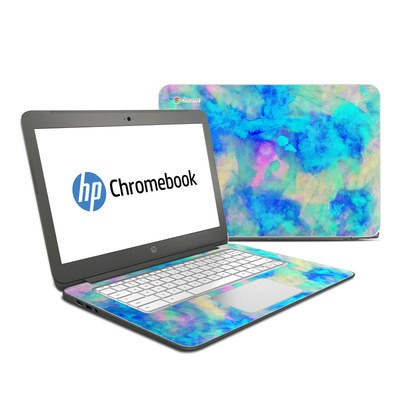 HP Chromebook 14 G4 Skin - Electrify Ice Blue