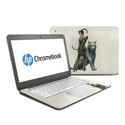 HP Chromebook 14 G4 Skin - Half Elf Girl