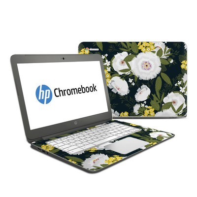 HP Chromebook 14 G4 Skin - Fleurette Night