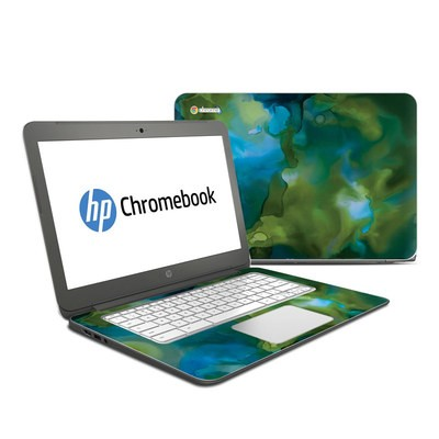 HP Chromebook 14 Skin - Fluidity