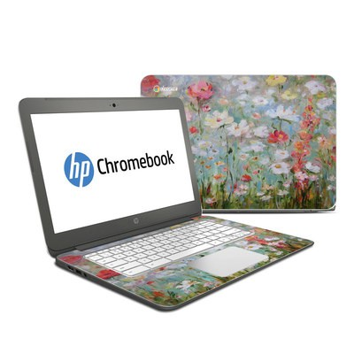 HP Chromebook 14 G4 Skin - Flower Blooms