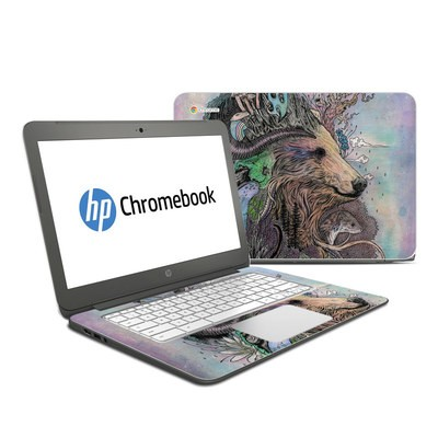 HP Chromebook 14 Skin - Forest Warden