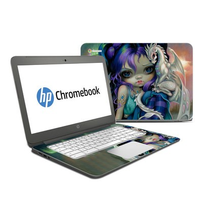 HP Chromebook 14 G4 Skin - Frost Dragonling