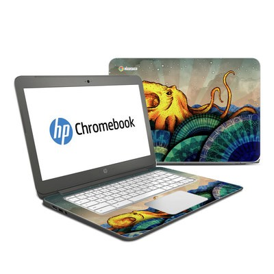 HP Chromebook 14 G4 Skin - From the Deep