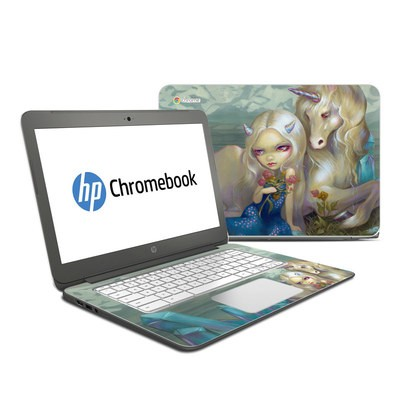 HP Chromebook 14 Skin - Fiona Unicorn