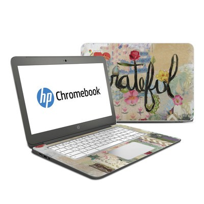 HP Chromebook 14 Skin - Grateful