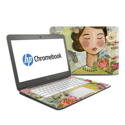 HP Chromebook 14 Skin - Grateful Soul