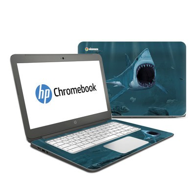 HP Chromebook 14 Skin - Great White