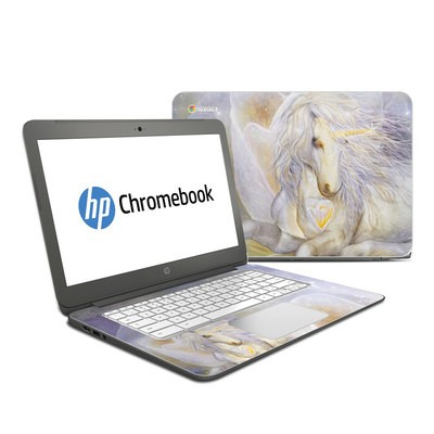 HP Chromebook 14 Skin - Heart Of Unicorn