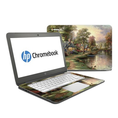 HP Chromebook 14 G4 Skin - Hometown Lake