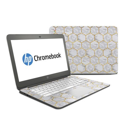 HP Chromebook 14 G4 Skin - Honey Marble