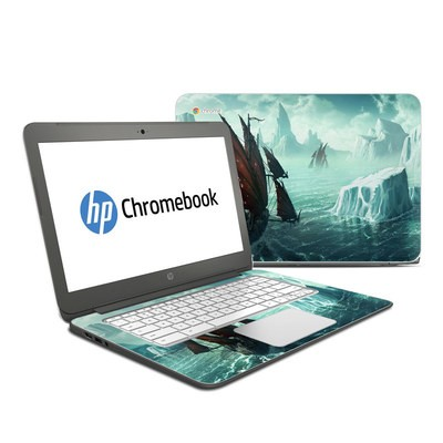 HP Chromebook 14 Skin - Into the Unknown