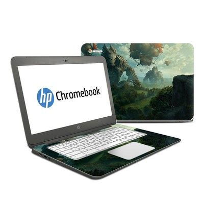 HP Chromebook 14 Skin - Invasion