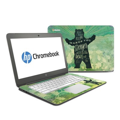 HP Chromebook 14 Skin - What Doesnt Kill You