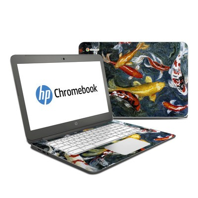 HP Chromebook 14 G4 Skin - Koi's Happiness