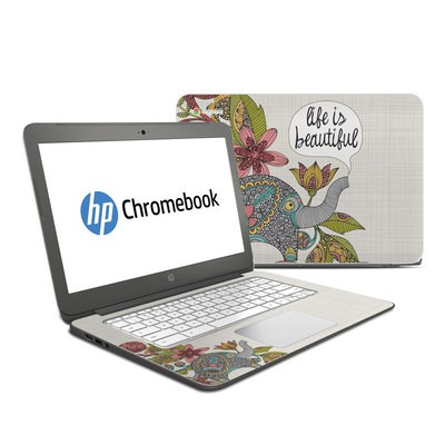 HP Chromebook 14 Skin - Life is Beautiful