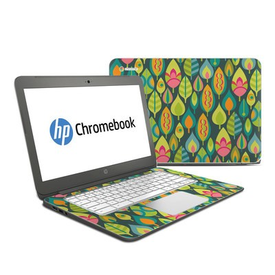 HP Chromebook 14 Skin - Little Leaves