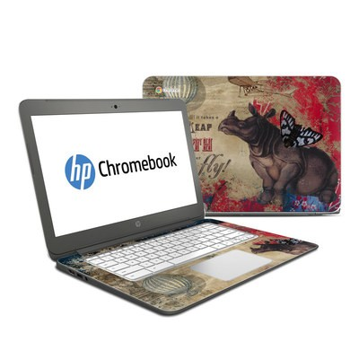 HP Chromebook 14 G4 Skin - Leap Of Faith