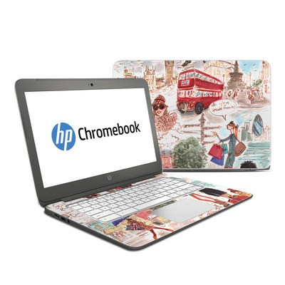 HP Chromebook 14 G4 Skin - London