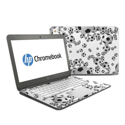 HP Chromebook 14 G4 Skin - Lots of Soccer Balls