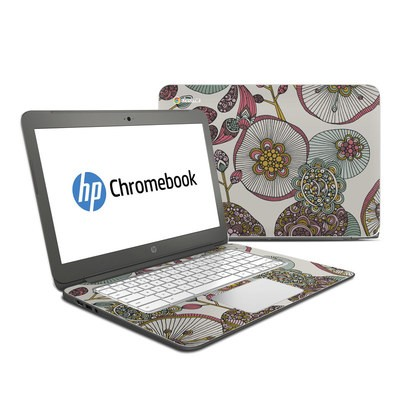 HP Chromebook 14 Skin - Lotus