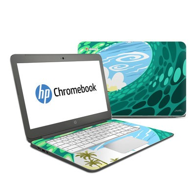 HP Chromebook 14 Skin - Lunch Break