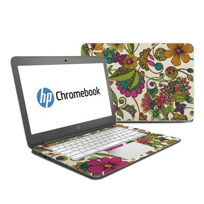 HP Chromebook 14 Skin - Maia Flowers