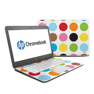 HP Chromebook 14 Skin - Multidot