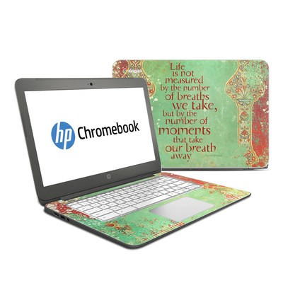 HP Chromebook 14 G4 Skin - Measured