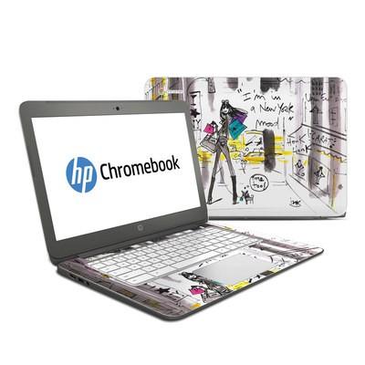 HP Chromebook 14 G4 Skin - My New York Mood