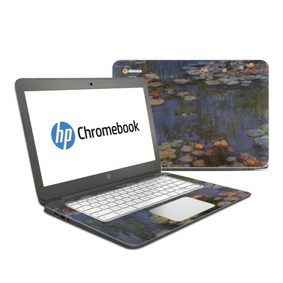 HP Chromebook 14 G4 Skin - Monet - Water lilies