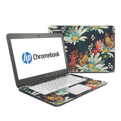 HP Chromebook 14 Skin - Monarch Grove