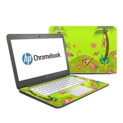 HP Chromebook 14 Skin - Monkey Melody