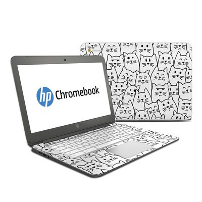 HP Chromebook 14 G4 Skin - Moody Cats